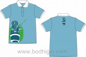 T-Shirt Bodhigiri Biru