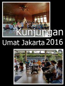Kunjungan umat Jakarta ke VIhara Bodhigiri pada masa vassa 2016
