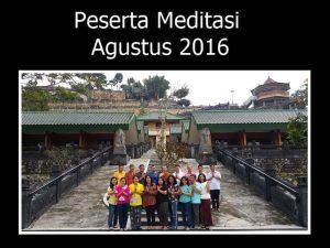 Foto bersama setelah latihan meditasi di Vihara Bodhigiri